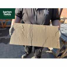 Natural Sandstone Flat Double Brick Wall Coping Stones in Harvest Blend - 600mm x 300mm