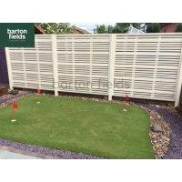 Milan Contemporary Fence Panel - 180cm x 180cm