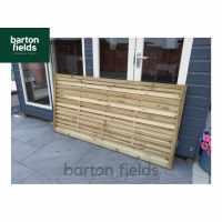 Monaco Contemporary Fence Panel - 90cm x 180cm