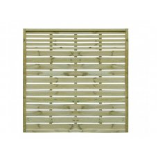 Pioneer Contemporary Fence Panel - 180cm x 180cm