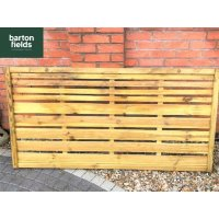 Pioneer Contemporary Fence Panel - 90cm x 180cm