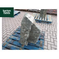 Natural Green Slate Monolith - Pre-Drilled Water Feature. Ref: OG4 - 770mm High
