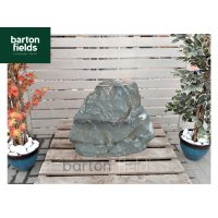 Natural Green Slate Monolith - Pre-Drilled Water Feature. Ref: OGS-201 - 640mm High