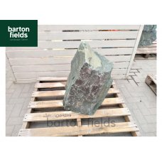 Natural Green Slate Monolith - Pre-Drilled Water Feature. Ref: OGS-203 - 700mm High