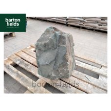Natural Green Slate Monolith - Pre-Drilled Water Feature. Ref: OGS-204 - 480mm High