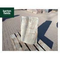 Natural Slate Pre-Drilled Monolith Water Feature: Green : 750mm High