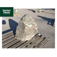 Natural Green Slate Pre-Drilled Monolith Water Feature: Ref: SL-2 - 740mm High