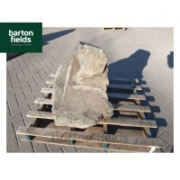 Natural Slate Pre-Drilled Monolith Water Feature: Green 680mm