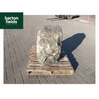 Natural  Slate Pre-Drilled Monolith Water Feature: Green, 590mm High