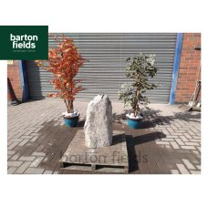 Natural Stone Monolith Pre-Drilled Water Feature in Grey Colour: 660mm High