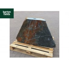 Natural Slate Monolith Water Feature in Rusty Slate: Pre-Drilled - 620mm