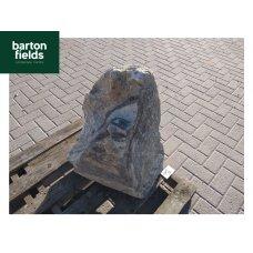 Natural Quartz Stone Monolith - Silver- 640mm High