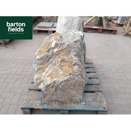 Natural Silver Quartz Stone Pre-Drilled Monolith Water Feature: SQ-613 - 800mm High