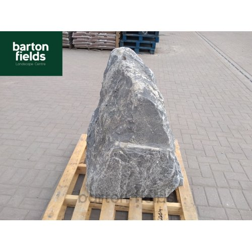 Natural Silver Quartz Stone Pre-Drilled Monolith Water Feature: SQ-614 - 980mm High