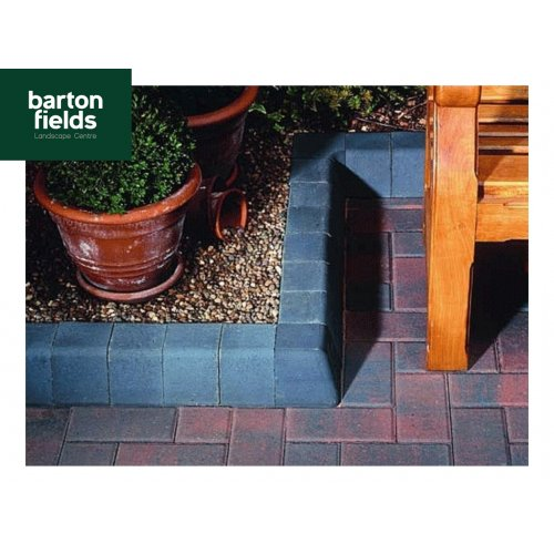 Block Paving High Kerbs for Driveways in Charcoal - 200mm High