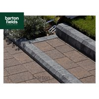 Low Kerbs, Charcoal - 120mm High