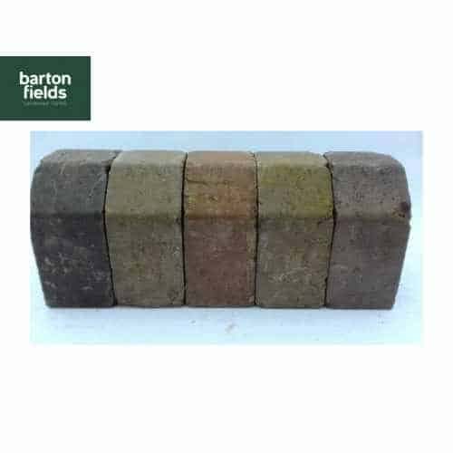 Tumbled Block Paving High Kerbs in Original