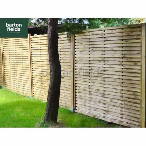 Monaco Contemporary Fence Panel - 180cm x 180cm