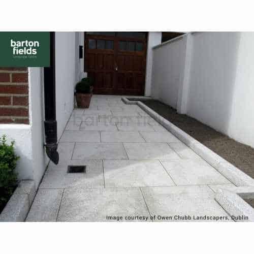 Natural Granite Paving in Silver 600mm x 600mm - Per m2