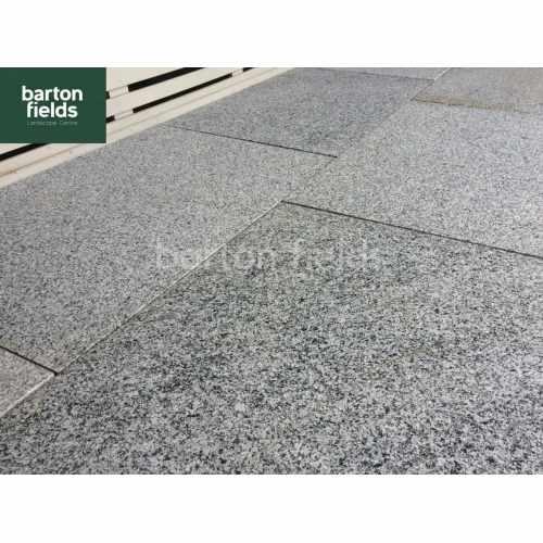Natural Granite Paving in Silver 900mm x 600mm - Per m2