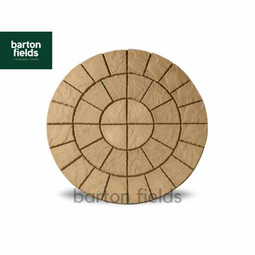 Bowland Cathedral Circle Feature in Barley - 2.56mtr Dia