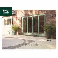 Bradstone Textured Paving Slabs in Buff. 600x600mm  - Pack (20)