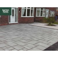 Flag 4 Size Paving, Silver - Project Pack 7m2
