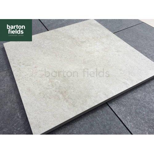 Porcelain Paving in 60cm x 60cm Steel Grey - Per m2