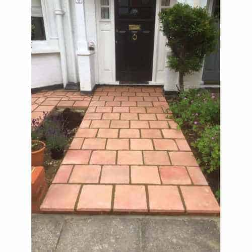 Terracotta 315mm x 315mm Tiles - Patio Pack 10m2