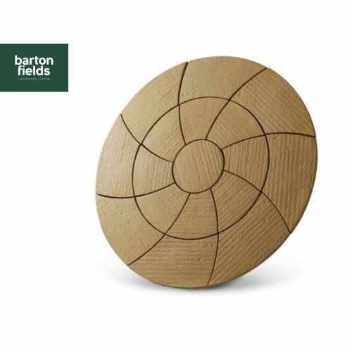 Bowland Catherine Wheel Circle Feature in Barley - 2.09m Diameter