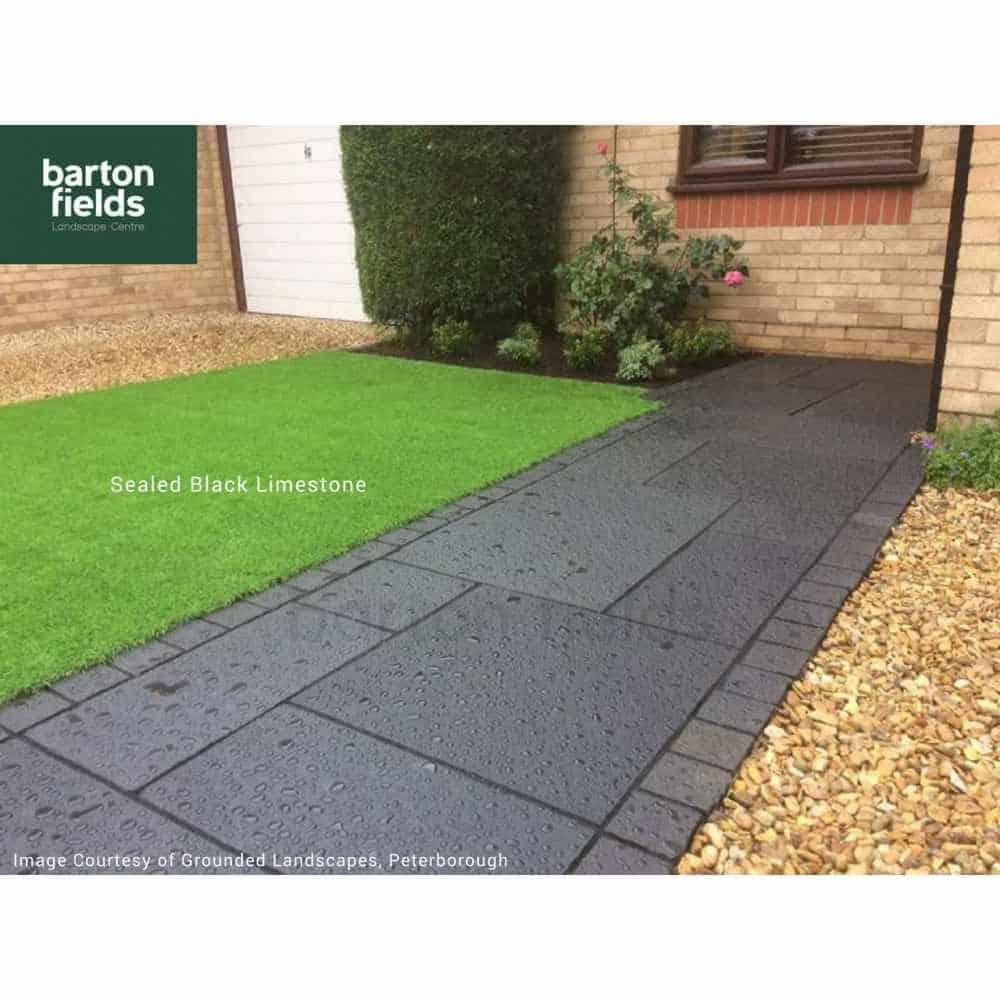 natural limestone 4 size paving in black per m2 natural. Black Bedroom Furniture Sets. Home Design Ideas