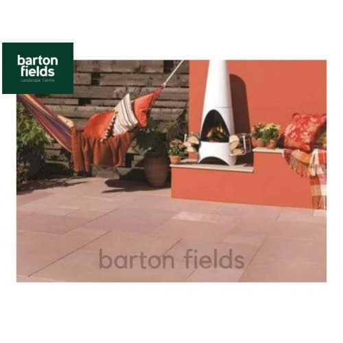Bradstone Natural Sandstone Mixed Size Paving in Modac Colour - 15.3m2 Patio Pack - Old Stock Priced to Clear