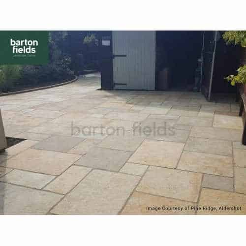 Natural Limestone 4 Size Paving in Old Provence - Per m2