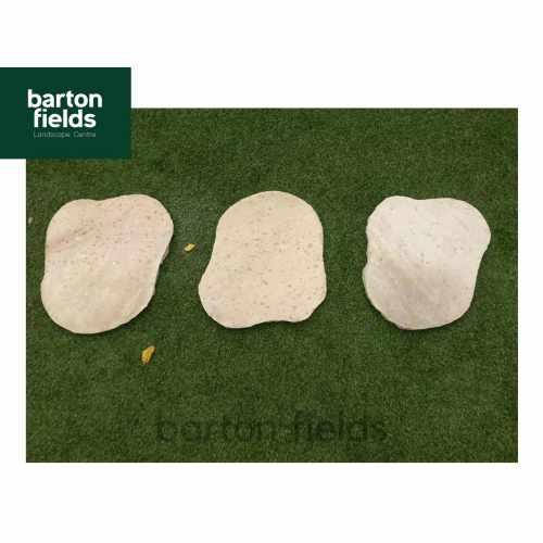 Natural Sandstone Random Shaped Stepping Stones - Colour: Sahara