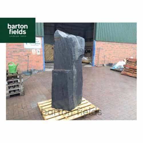 Natural Blue Slate Standing Stone Monolith Feature - 1760mm High