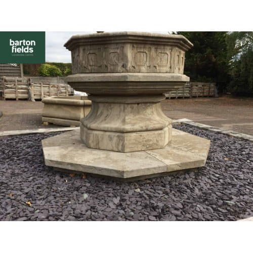 Natural Limestone Aged Gothic Font