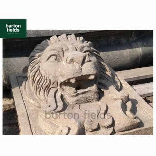 Natural Limestone Lions Head - 400x360mm Build in Water Feature