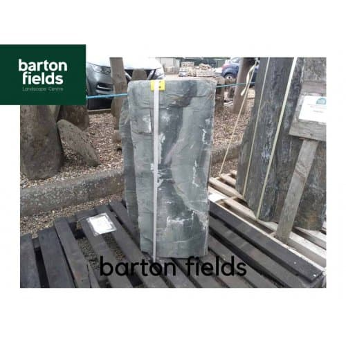 Natural Slate Monolith in Green Slate: Pre-Drilled - 850mm