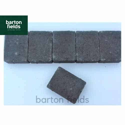 Contemporary Paving Setts in Charcoal Colour - 10.5cm x 14cm