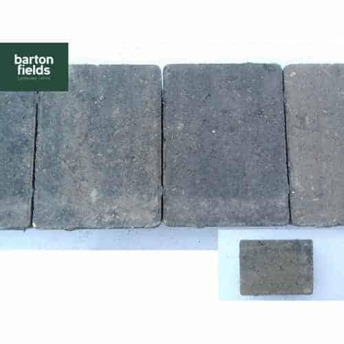 Contemporary Paving Setts in Graphite Blend Colour - 10.5cm x 14cm