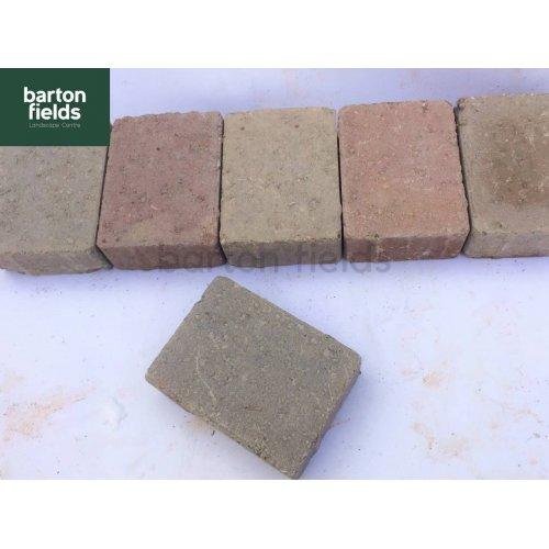 Tumbled Paving Setts in Original Colour - 10.5cm x 14cm