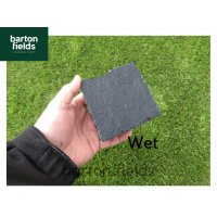 Natural Limestone Cobblestones, Black - 10cm x 10cm