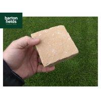 Natural Sandstone Cobbles, Harvest - 10cm x 10cm