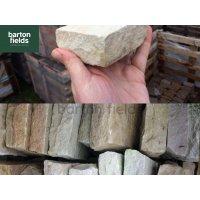 Natural Sandstone  Cobbles, Sahara - 10cm x 10cm