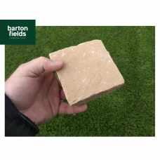 Natural Sandstone Paving Cobbles in Harvest Blend Colour - 100x100x40-60mm