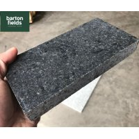 Natural Sawn Granite Cobble Setts, Emperor Black - 20cm x 10cm x 2.5cm